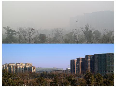 12月中下旬京津冀及汾渭平原可能出现中至重度污染